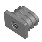 PCLR-CLR - Tube rectangle - Bouiller Plastiques