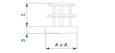 PEAC-EAC01 - Tube carre - Bouiller Plastique