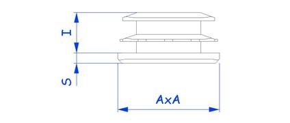 PEEC-EEC - Tube carre - Bouiller Plastique