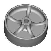 PGAL- GALET ROULETTE - Bouiller Plastiques