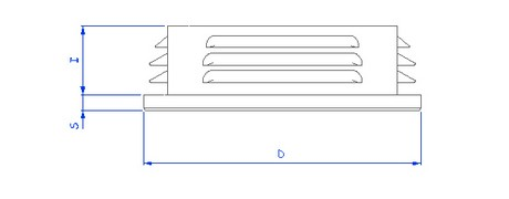 XEAC-EAC03 - Tube carre - Bouiller Plastique